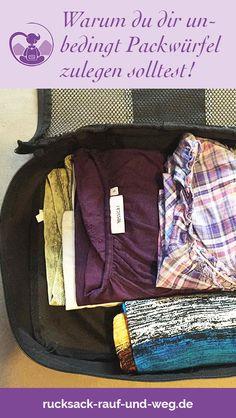 81a922f663ee4 Nie wieder Chaos im Backpack oder Koffer! Praktische Packwürfel bzw.  Packing Cubes