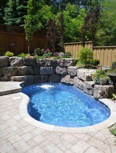 Custom pool design by Land Effects Outdoor Living Spaces Ltd. via Homestars.