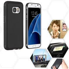 MYBAT Magic Adhesive Hybrid Protector Galaxy S7 Case