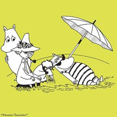 Have a great weekend! #Moomin #ToveJansson