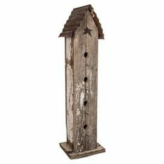 Attract feathered residents to your garden or backyard with this reclaimed…