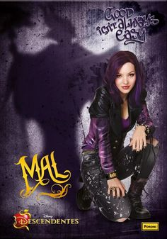 Mal the daughter of Maleficent