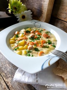 Food N, Good Food, Food And Drink, Cheeseburger Chowder, Risotto, Seafood, Soup, Fish, Baking