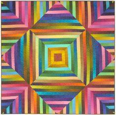 Pointillist Palette quilt