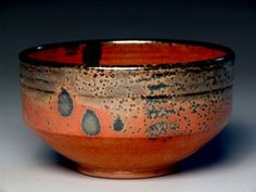 recipe for Malcolm Davis Shino add high iron glaze over for luster (needs reduction or no air)