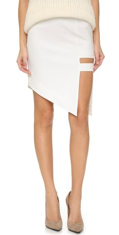Mason by Michelle Mason Cage Skirt | SHOPBOP