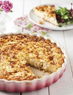 Chicken and cream cheese cheesecake-Hoender-en-roomkaas-kaaskoek Chicken egg chicken and cream cheese cheesecake cream cheese cheesecake - Light Recipes, Low Carb Recipes, Great Recipes, Cooking Recipes, Favorite Recipes, Savory Snacks, Savoury Dishes, Quiches, Kos