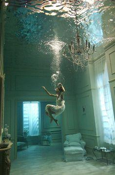 Underwater Series Shoot | Photograph by Phoebe Rudomino, 2006
