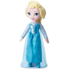 """Regularly  $29.99Sale $14.99 AVON EXCLUSIVE  Elsa gleams and glitters while she sings a selection from the popular hit """"Let It Go"""" from the Disney movie Frozen. She is soft and snuggly and ready to be your best friend! 26"""" tall. Ages 3 and up. Polyester. Imported. Limited quantities available.     While Supplies Last"""