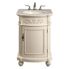 Baños Shabby Chic, Shabby Chic Kitchen, French Country Bedrooms, French Country Decorating, Country Bathrooms, French Country Bathroom Ideas, Single Bathroom Vanity, Small Bathroom, Bathroom Vanities
