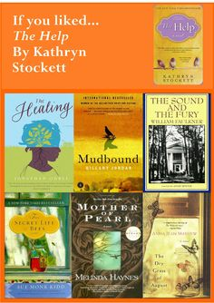 If you liked...The Help by Kathryn Stockett. Request it at http://eisenhowerlibrary.org/ or by calling the Answers Desk at 708.867.2299