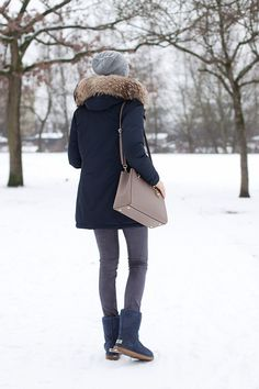 Outfit: Woolrich Parka x UGG-Boots x Michael Kors Bag | Mood For Style - Fashionblog