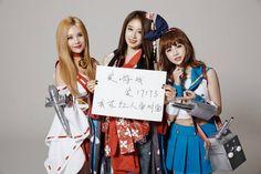 Qri - Jiyeon - Boram / In Cosplays