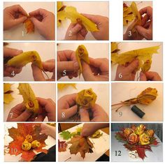 Оригинальные поделки из природных материалов мастер-класс, поделки для детей, поделки из желудей, поделки из природных материалов, поделки из цветов, поделки с детьми, розы из листьев