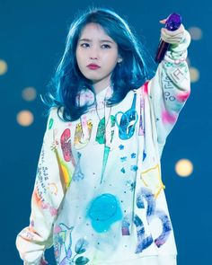 """""""I don't know why but I love this picture of IU 💙😅 Her expression 🥰 Credit to the owner. Korean Actresses, Korean Actors, Iu Fashion, Korean Fashion, Divas, Warner Music, 26 November, Cute Korean Girl, Korean Star"""