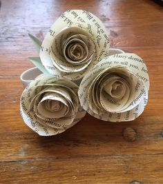 Bridal party corsage made from vintage book page by hbixbyartworks bridal party corsage made from vintage book page by hbixbyartworks 1750 wedding pinterest vintage books corsage and bridal parties mightylinksfo
