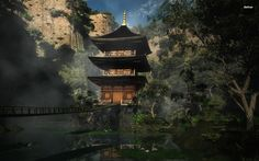 Japanese Temple Wallpaper (Good Galleries)
