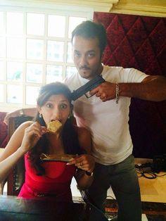 Tanvi Vyas Photos - Tanvi Vyas Eating Ice Cream at Gun point Eating Ice Cream, Bollywood Photos, India People, Gun, Couple Photos, Couples, Couple Shots, Firearms, Couple Photography