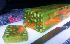 Spring Asparagus Terrine, Not your Mother's Jello mold! | Il Corvo ...