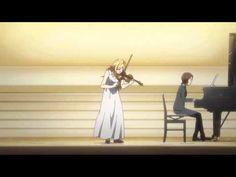▶ Kaori violin performance [Ep 02 of Shigatsu wa Kimi no Uso] - YouTube