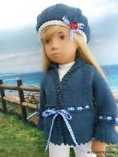 NEW HAND KNITTED * NAUTICAL* OUTFIT FOR SASHA DOLL by Alicewhitewings