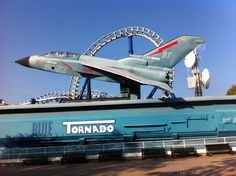 Blue Tornado - Gardaland Park