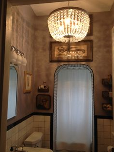 First floor bathroom of my 1874 Victorian home.