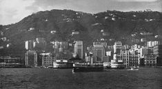 Star Ferry & the HK waterfront back in the 1960s