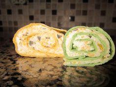 Never trust a skinny cook....: Tortilla rollups