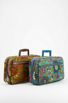 Urban Renewal Vintage Floral Suitcase