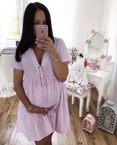 41 Gorgeous outfit ideas for pregnant women who look comfortable - Dress - . - Schwanger Kleidung - Pregnant Tips Cute Maternity Outfits, Stylish Maternity, Pregnancy Outfits, Pregnancy Photos, Maternity Fashion, Maternity Dresses, Cute Outfits, Pregnancy Info, Pregnancy Hair