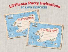 free pirate invitation