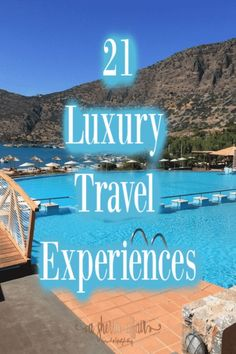 Adding luxury experiences to a travel itinerary can make a vacation unforgettable. Here are 21 Luxury Travel Experiences Around the World to inspire you! World Travel Guide, Top Travel Destinations, Travel Guides, Places To Travel, Travel Tips, Travel Abroad, Travel Around The World, Around The Worlds, Hotels And Resorts