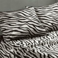 """Premier Comfort Satin Sheet Pillowcase - Black/White - Standard Case by Premier Comfort. $11.99. Set Includes: 2 Pillowcase. Size: 20x30""""(Pair). Material: Polyester. Patten: Print. These silky high luster satin sheets are luxurious on any bed all year round. It has naturally wrin. These silky high luster satin sheets are luxurious on any bed all year round. It has naturally wrinkle free properties and are machine washable. Fits up to a 16 inch mattress. Availabl..."""