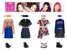 """""""BLACKPINK - AS IF IT'S YOUR LAST❤️"""" by vvvan99 on Polyvore featuring MSGM, Alexander Wang, Alexis Mabille, VIVETTA, Yves Saint Laurent, Dr. Martens, Topshop, Charlotte Russe, Sophie Harley London and Gucci"""