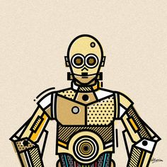 Famous Robots - Created by Mike Karolos