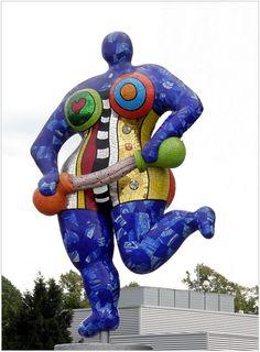 """Nana"", by Niki de Saint-Phalle, (Hamburg)"