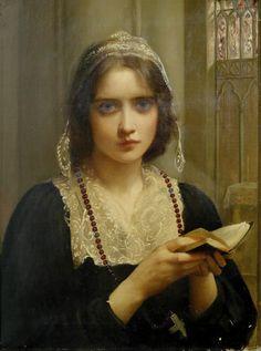 "monsieurleprince: "" Charles Edward Hallé (1846 - 1914) - At Vespers """