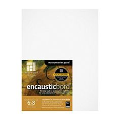 Substrate for Encaustic painting Ampersand Encausticbord, 1/8 Inch 6X8 Pk/3
