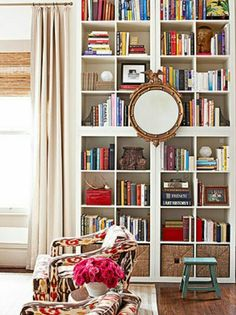 Dust free book shelves