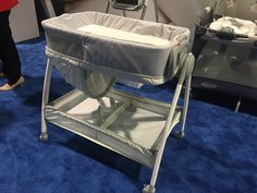 What looks like an ordinary bassinet actually can perform a trick. The Graco Dream Sweet Bassinet ($149) ea...