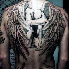 100 Guardian Angel Tattoos For Men – Spiritual Ink Designs