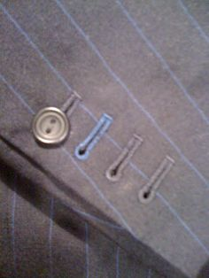 Rory Duffy Handcraft Tailor: Hand stitched Buttonholes