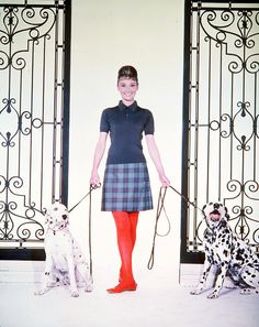 {Audrey and friends} Photo by Bud Fraker 1961