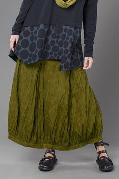 Fab Skirt in Olive Bellini Carnaby by Kaliyana (my favorite Canadian designer).