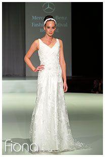 FIONA / Wedding Dresses / Mercedes Fashion Festival / Jack Sullivan Bridal