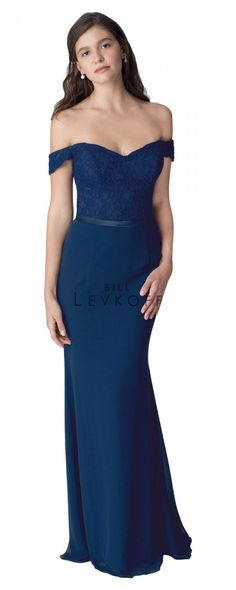 Bill Levkoff - 1252 | Bridesmaids & Special Occasion at Jaehee Bridal Atelier    #mermaid #offtheshoulder #sweetheart #lace #bridesmaid #bridesmaids #bridesmaiddresses