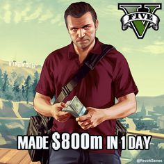 Congratulations Rockstar Games. Made $800m in 24 hours. Well played.