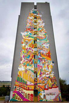 #street #art - by Jane Lee (MessyDesk)   ..........Follow Viral Pinterest: https://www.pinterest.com/lyndanna/pinterest/