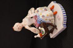 Porcelana romanticonamente maravillosa, final del XIX